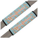 Foxy Yoga Seat Belt Covers (Set of 2) (Personalized)