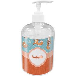 Foxy Yoga Soap / Lotion Dispenser (Personalized)
