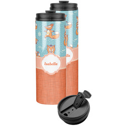 Foxy Yoga Stainless Steel Skinny Tumbler (Personalized)