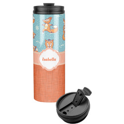 Foxy Yoga Stainless Steel Tumbler (Personalized)