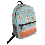 Foxy Yoga Student Backpack (Personalized)