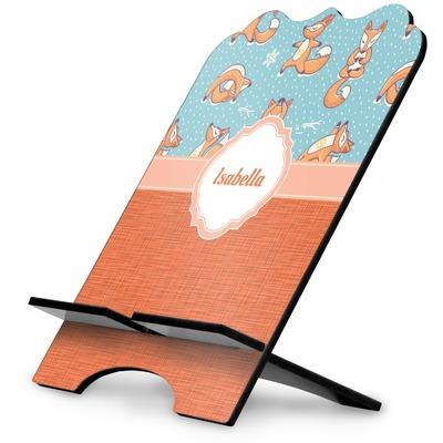 Foxy Yoga Stylized Tablet Stand (Personalized)