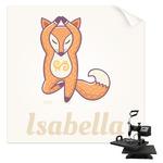 Foxy Yoga Sublimation Transfer (Personalized)