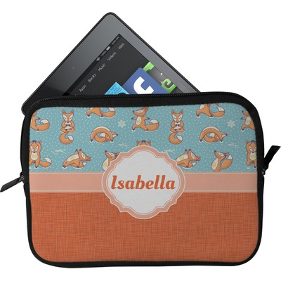 Foxy Yoga Tablet Case / Sleeve (Personalized)