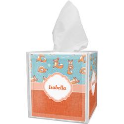 Foxy Yoga Tissue Box Cover (Personalized)