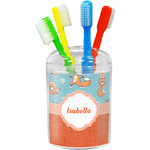 Foxy Yoga Toothbrush Holder (Personalized)