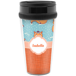 Foxy Yoga Travel Mugs (Personalized)