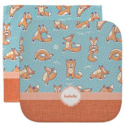 Foxy Yoga Facecloth / Wash Cloth (Personalized)