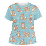Foxy Yoga Women's Crew T-Shirt (Personalized)