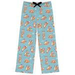 Foxy Yoga Womens Pajama Pants (Personalized)