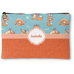 Foxy Yoga Zipper Pouch (Personalized)