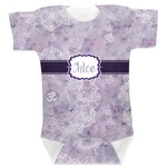 Watercolor Mandala Baby Bodysuit (Personalized)
