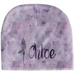 Watercolor Mandala Baby Hat (Beanie) (Personalized)
