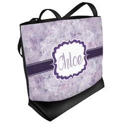 Watercolor Mandala Beach Tote Bag (Personalized)