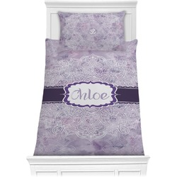 Watercolor Mandala Comforter Set - Twin XL (Personalized)