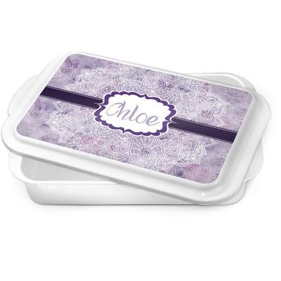 Watercolor Mandala Cake Pan (Personalized)