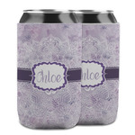Watercolor Mandala Can Cooler (12 oz) w/ Name or Text