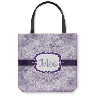 Watercolor Mandala Canvas Tote Bag (Personalized)