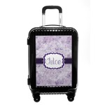Watercolor Mandala Carry On Hard Shell Suitcase (Personalized)