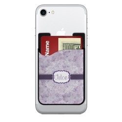 Watercolor Mandala 2-in-1 Cell Phone Credit Card Holder & Screen Cleaner (Personalized)