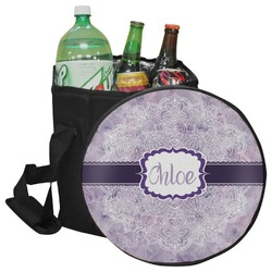 Watercolor Mandala Collapsible Cooler & Seat (Personalized)