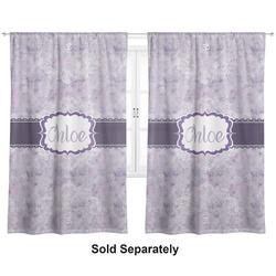 "Watercolor Mandala Curtains - 40""x54"" Panels - Lined (2 Panels Per Set) (Personalized)"