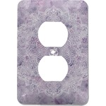 Watercolor Mandala Electric Outlet Plate (Personalized)