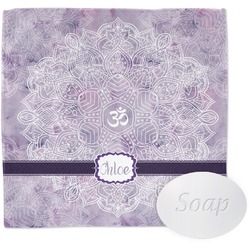 Watercolor Mandala Wash Cloth (Personalized)