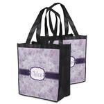 Watercolor Mandala Grocery Bag (Personalized)