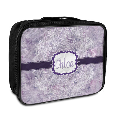 Watercolor Mandala Insulated Lunch Bag (Personalized)