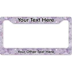 Watercolor Mandala License Plate Frame (Personalized)