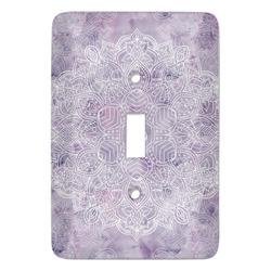 Watercolor Mandala Light Switch Covers (Personalized)
