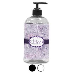 Watercolor Mandala Plastic Soap / Lotion Dispenser (Personalized)