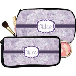 Watercolor Mandala Makeup / Cosmetic Bag (Personalized)