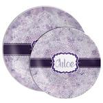 Watercolor Mandala Melamine Plate (Personalized)