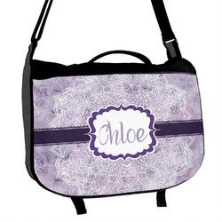 Watercolor Mandala Messenger Bag (Personalized)