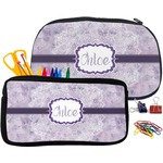 Watercolor Mandala Pencil / School Supplies Bag (Personalized)