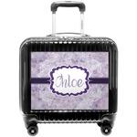 Watercolor Mandala Pilot / Flight Suitcase (Personalized)
