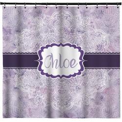 Watercolor Mandala Shower Curtain (Personalized)