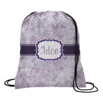 Watercolor Mandala Drawstring Backpack (Personalized)