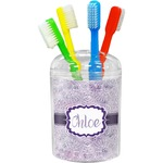 Watercolor Mandala Toothbrush Holder (Personalized)