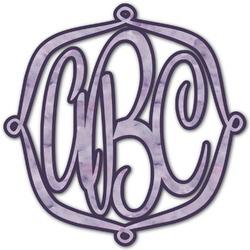 Watercolor Mandala Monogram Decal - Custom Sized (Personalized)