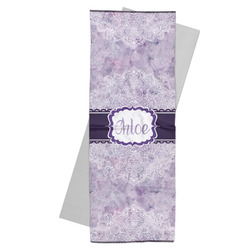 Watercolor Mandala Yoga Mat Towel (Personalized)