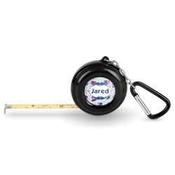 Patriotic Celebration Pocket Tape Measure - 6 Ft w/ Carabiner Clip (Personalized)
