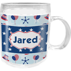 Patriotic Celebration Acrylic Kids Mug (Personalized)