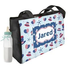 Patriotic Celebration Diaper Bag (Personalized)
