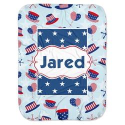 Patriotic Celebration Baby Swaddling Blanket (Personalized)