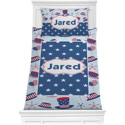 Patriotic Celebration Comforter Set - Twin XL (Personalized)