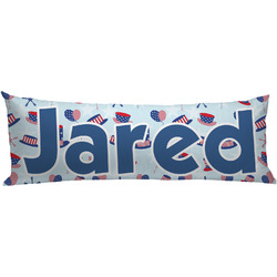 Patriotic Celebration Body Pillow Case (Personalized)