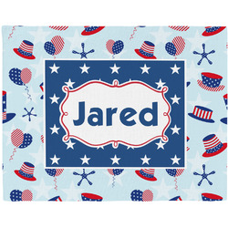 Patriotic Celebration Placemat (Fabric) (Personalized)